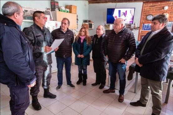 División Canes finalizará las obras de su edificio gracias a los aportes del Municipio