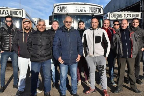 Tras pagar sueldos levantaron el paro de colectivos en Trelew y Rawson