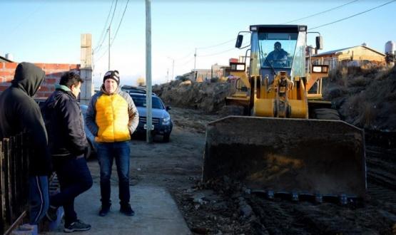 Caleta Olivia: Habilitaron la calle luego de las reparaciones
