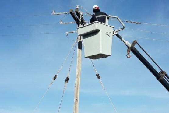 Servicios públicos realizó tareas de mejoras en el tendido eléctrico