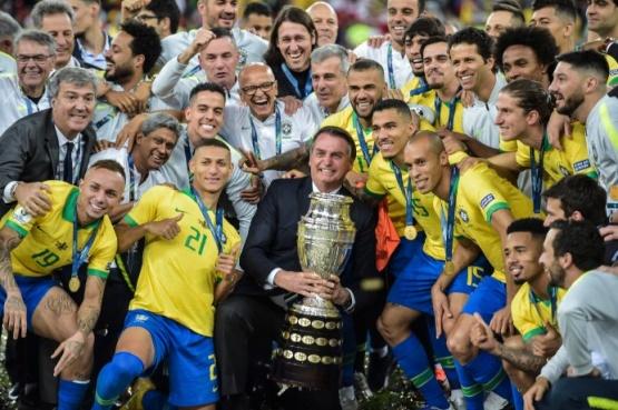 Vergonzoso: el show de Bolsonaro en el Maracaná