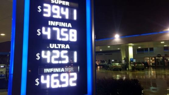 Así están hoy los precios de YPF. (C.G)