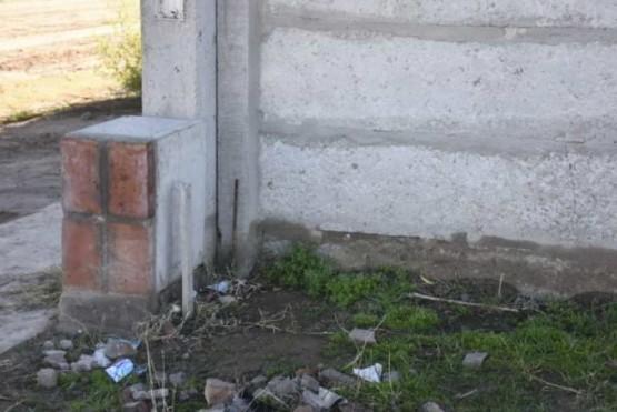 Vecino encontró bebé abandonado en una caja