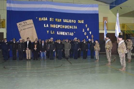 Gobierno participó del 9 de Julio en 28 de Noviembre