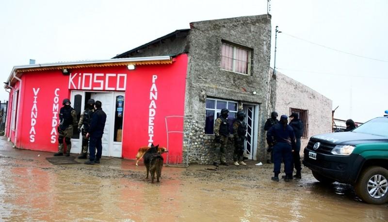El ingreso táctico estuvo a cargo del personal de la División Fuerzas Especiales. (Foto: C.R.)