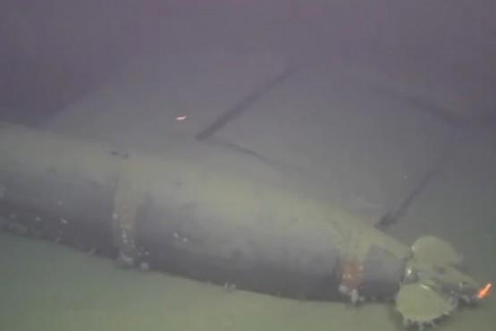 Un submarino nuclear soviético hundido en 1989 tiene una radioactividad 100.000 veces superior a la normal