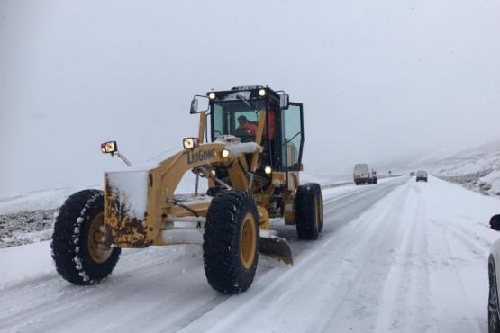 Piden extrema precaución en RN40 por nieve