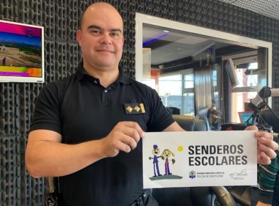 """Trabajan en conjunto para concretar el proyecto """"Senderos Escolares"""""""