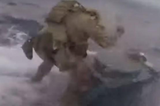 La espectacular persecución a un narcosubmarino en alta mar con 1,5 toneladas de cocaína