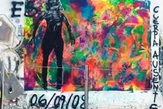 El mural de Elizabeth Adaro: