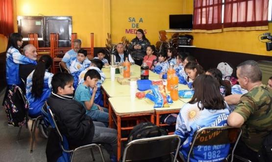 Prohibido Olvidar despidió a los Veteranos de Buenos Aires
