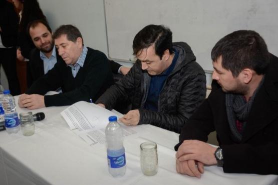 Firmaron convenio para el programa de Innovación Tecnológica