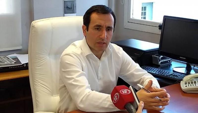 Marcelo griffthis presidente de Cooperativa Electrica de Rawson