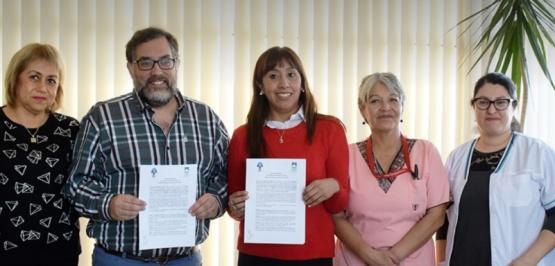 """Se realizó la firma del convenio para el """"Ciclo Orientativo de Salud"""""""