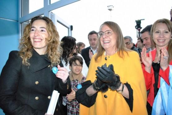 Alicia inauguró el nuevo edificio del Ministerio de Salud