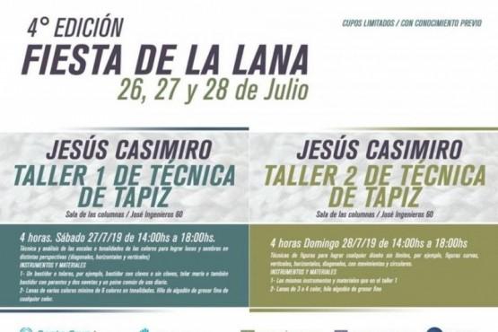 Se realizará la 4° edición de la Fiesta de la Lana