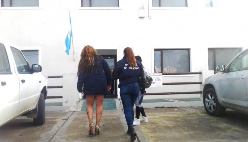 Algunas de las mujeres fueron llevadas al Juzgado Federal a dar su testimonio.