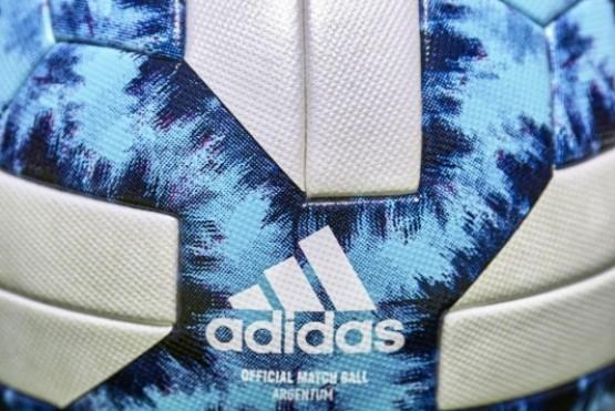 La nueva pelota del fútbol argentino está inspirada en el glaciar