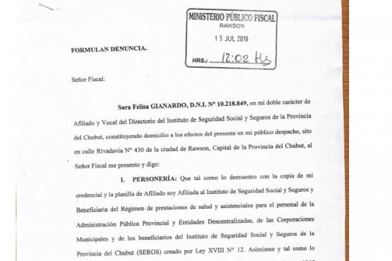 Jubilados denunciaron a Tarrío por la falta de pago de salarios