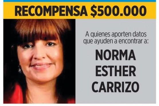Continúa la búsqueda de Norma Carrizo