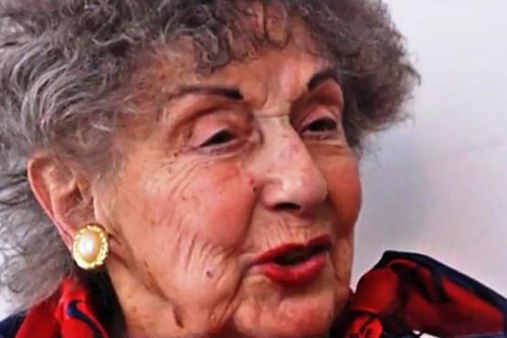 Falleció Mafalda Abraham, reconocida vecina de Trelew
