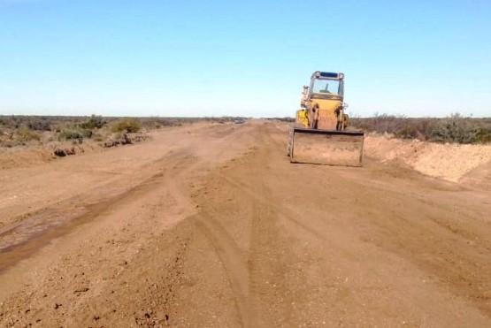 Vialidad Provincial repara la ruta Nº 1