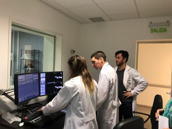 Se realizó el primer estudio PET en el Centro de Medicina Nuclear