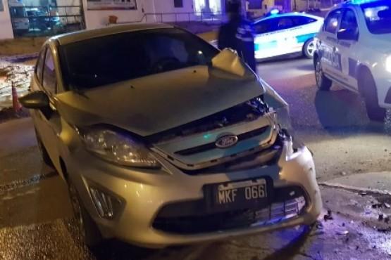 Tres accidentes de tránsito en la madrugada de este sábado