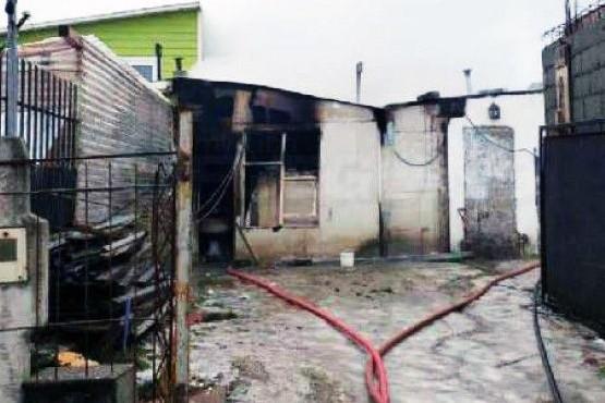 Prisión preventiva al hombre que incendió una vivienda con niños adentro
