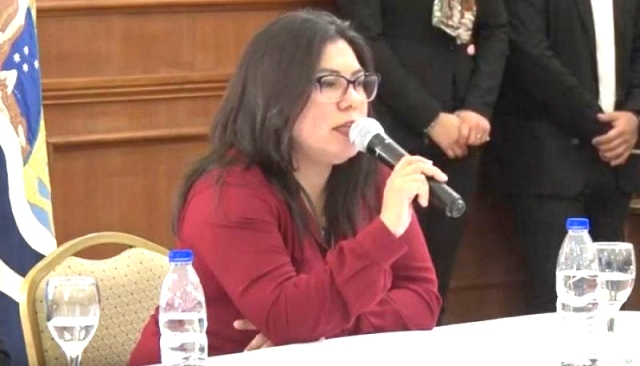 Nadia Astrada, secretaria de DDHH de Santa Cruz (Foto Archivo)
