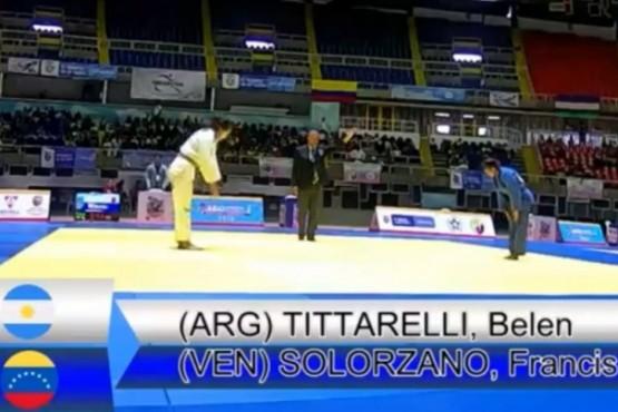Belén Tittarelli subcampeona en Campeonato Panamericano