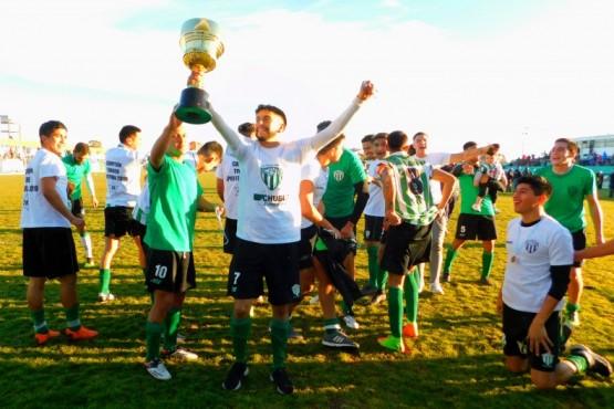 Germinal volvió a golear a Gaiman y se consagró en el Apertura de fútbol