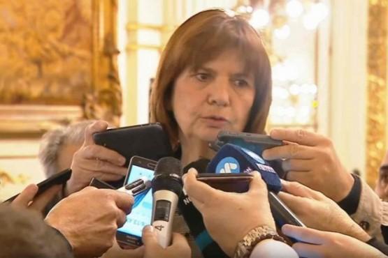 Patricia Bullrich confirmó que las pistolas Taser se utilizarán desde septiembre