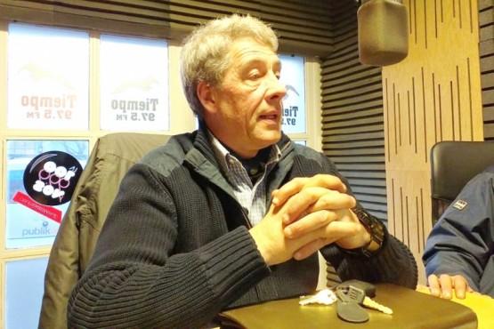 Enrique Jamieson pasó por Tiempo FM.