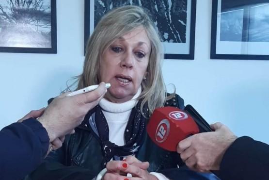 Intendenta de Rawson, Rossana Artero.