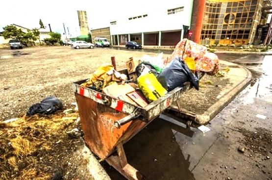Señalan que los contenedores sólo generan más basura.