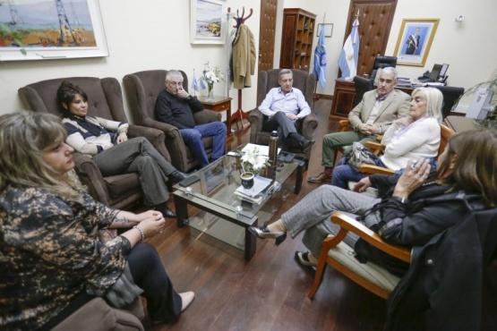 Arcioni recibió al bloque de diputados de Chubut Somos Todos