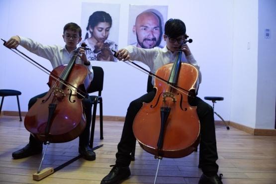 Orquestas, bandas y coros se presentaron en distintos escenarios