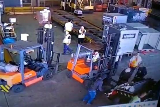 Armados robaron más de 30 millones de dólares en oro y otros metales en el aeropuerto