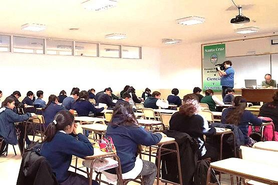 Este año se llevan dictados 90 días de clases en la mayoría de las escuelas de Santa Cruz. (Ilustrativa).