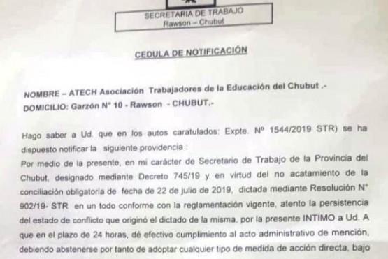 Conciliación obligatoria al sector docente