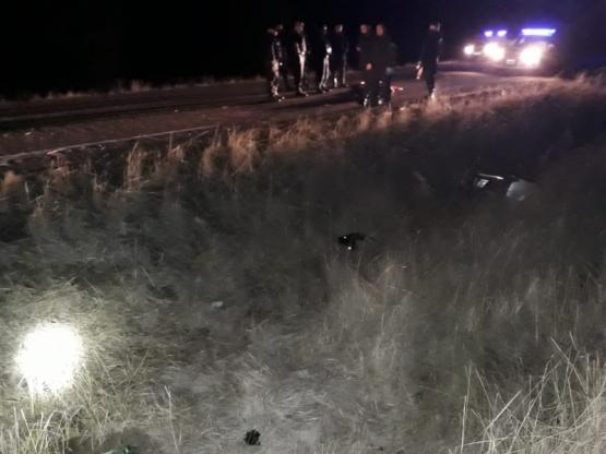Accidente fatal: murieron tres jóvenes, un santacruceño herido