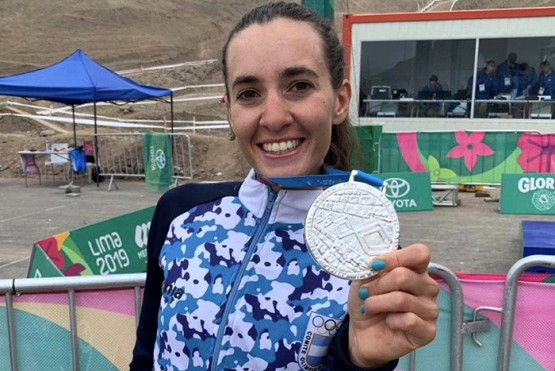Esquelense logró la medalla de plata en mountain bike