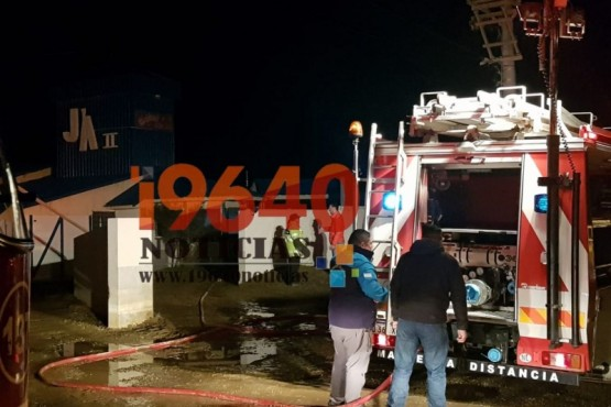 Se incendió un colchón en hotel alojamiento
