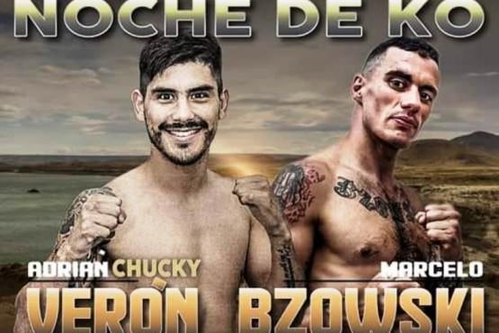 """""""Chucky"""" Verón boxeará el sábado en el Boxing Club"""