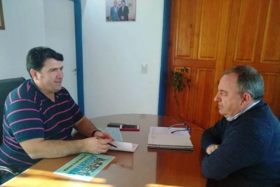 Arzani se reunió con el Intendente de 28 de Julio
