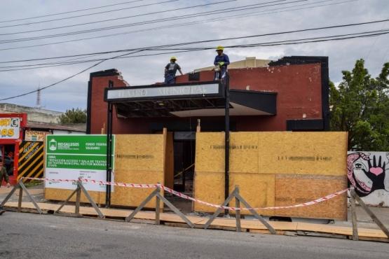 Se lanza llamado para la segunda etapa de refacción del Teatro Municipal