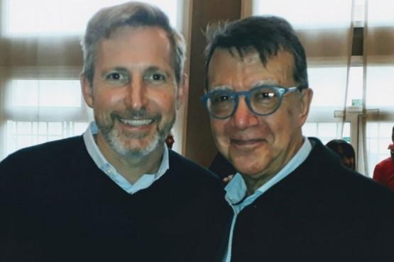 Ortiz Maldonado se reunió con Frigerio y trataron el Presupuesto 2020 del SAMIC