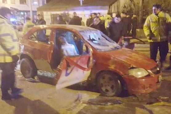 El conductor que atropelló a tres jóvenes estará preso hasta 2023