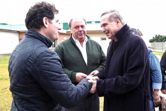 Agustín Dranovsky recibe a Pichetto en Faimali